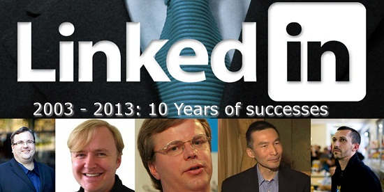 Linkedin celebrate 10 years DEF