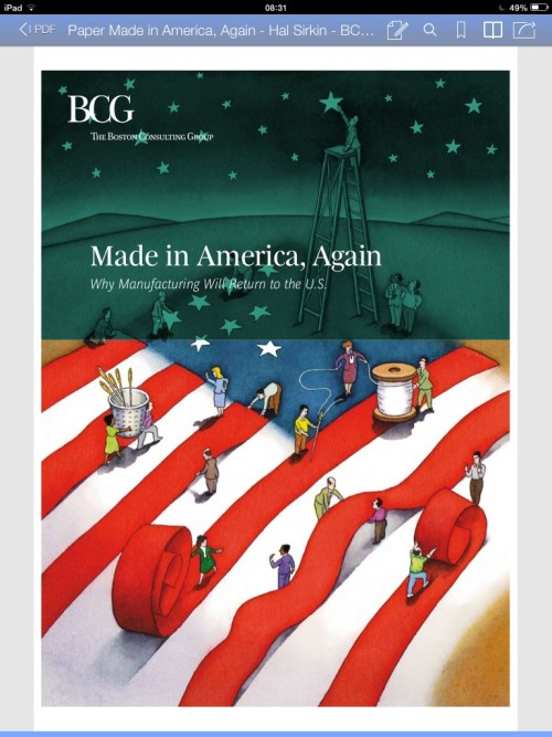 Paper Made in America, Again – Hal Sirkin – Senior Partner & Managing Director di BCG